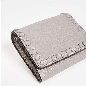 Rebecca Minkoff Grey Mini Vanity Wallet NWT